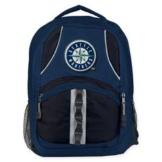 b3e0975e39d5 MLB Seattle Mariners Captain Backpack in Navy/Black | Bed Bath & Beyond