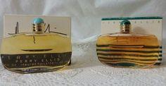 2 Original PERRY ELLIS PERFUME  EAU DE TOILETTE  17.OZ PERFUME 50ml w/box #PerryEllis