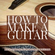 I wrote a 508 page guitar making book that simplifies a lot of the processes that you encounter as a new guitar maker. I cover making tools, customizing your guitar, making jigs, finishing, and a ton more. This is a great companion to any step by step book, and with over 500 pages and over 1600 images, it's thorough and helpful. Click to read more about the book, and happy building.