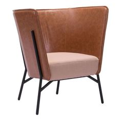 The high back Cigar Lounge Chair is the perfect accent chair for bold and trendy interiors.