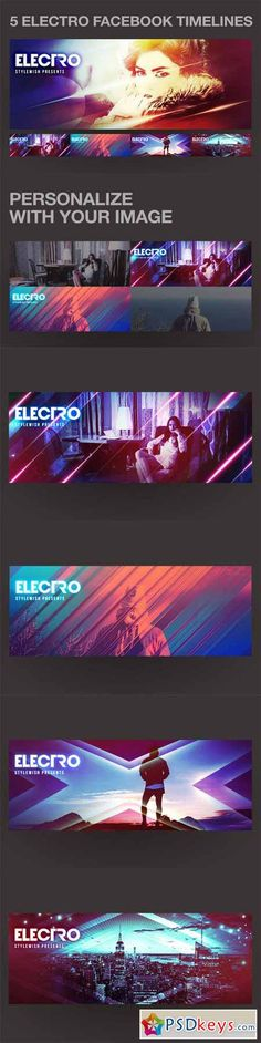 5 Electro Facebook Timeline Covers 508077