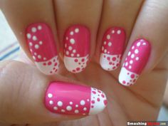 Love the design, do not like the shape of the nails. I'm more of a square nail kinda girl.