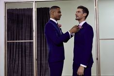 Get the ushers and groomsmen dressed to impress in a our selection of tailored suits.