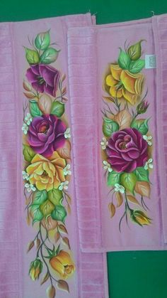 Fabric Painting, Painting On Wood, Rose Sketch, Pencil Shading, One Stroke Painting, Amazing Flowers, Decoupage, Floral Design, Arts And Crafts