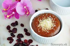 Individuálny kakaový cheesecake z tvarohu - FitRecepty Sweet Recipes, Snack Recipes, Healthy Recipes, Healthy Sweets, Sweet Life, Cheesecakes, Stevia, Smoothie, Sweet Treats