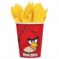 Angry Birds Party Cups x 8 Party Supplies Tableware Costume Halloween, Angry Birds Costumes, Party Supplies Australia, Bird Birthday Parties, 7th Birthday, Party Expert, Shower Bebe, Party Cups, Party Stores