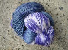 Sock Yarn  Superwash Wool and Nylon Fingering by GraceandFiber, $17.25