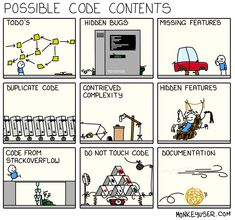 Possible code content - Tekno Hipercity Computer Humor, Computer Science, Programming Humor, Object Oriented Programming, Tech Humor, Programing Software, Program Design, Software Development, Funny Pictures