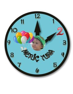 clock banner