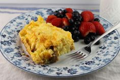 Eggs Lorraine is the perfect recipe for brunch or breakfast. It's delicious and comforting. http://lindasbestrecipes.com/recipe/eggs-lorraine/