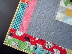 this corner of my Modern Medallion by StitchedInColor, via Flickr