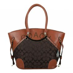 coach purse. This, may be the nicest coach bag I have ever seen. I think the addition of the leather finishes it off beautifully
