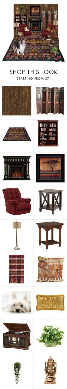 """""""Welcome Home"""" by farradaymg ❤ liked on Polyvore featuring interior, interiors, interior design, home, home decor, interior decorating, Sarreid, Winsome, DutchCrafters and Pendleton"""