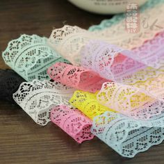 The new 26mm lace dress material hair accessories multicolor diy accessories #Affiliate