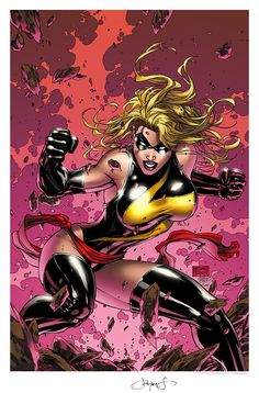 Miss Marvel by Michael Turner