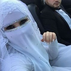 Who would love to get married in this dress?  #hijab #burqa #hijaab #arab #modesty #Abaya #Niqab #Jilbab #purda #nikah #muslimah #husband #wife #niqabi #selfielife #hijabi #beautiful #love #halalLove #muslims #jihad #selfielife