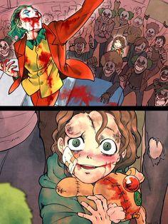 What if Joaquin Phoenix?s Joker is what inspired Heath Ledger?s Joker ? Joker Comic, Le Joker Batman, Joker And Harley Quinn, Comic Art, Manga Comics, Dc Comics, Joker Kunst, Joker Images, Mundo Comic