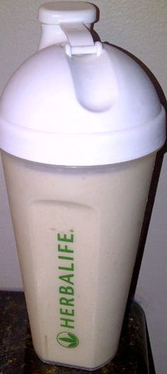 Herbalife Shake. This shake replaces a meal. I like having my shake for breakfast. Herbalife Shakes are equal to 2 Weight Watcher points. They are very tasty and a great way to kick start your morning. Prior to my shake, I have a drink of Aloe and Herbalife tea. Yummy!