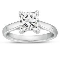 Gemesis Contemporary #Cushion #Diamond #Ring #engagement. Setting Price: $308.29.