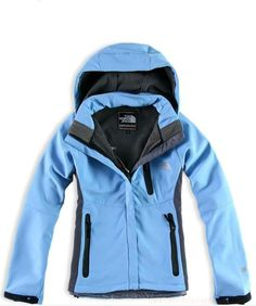 New Fashion Womens The North Face Windstopper Jacket Blue Outlet 0ccaa4384e67
