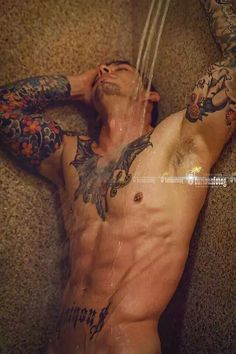 Lance Jones tattoo man