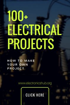 List of Electrical projects ideas for final year electrical engineering students along with resources, like circuit diagram, code, working process etc. Electrical Engineering Books, Electrical Projects, Chemical Engineering, Electronic Engineering, Control Engineering, Electronic Circuit, Electrical Wiring, Robotics Projects, Engineering Projects