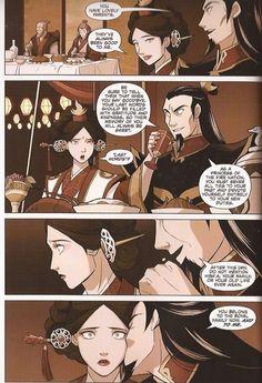 Comic Avatar la leyenda de Aang: La Búsqueda (Parte1)