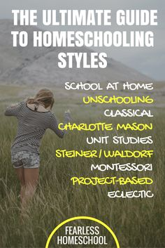 The Ultimate Guide to Homeschooling Styles, from Fearless Homeschool. Click to read and find out which homeschooling method will suit your family.