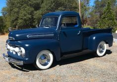 1951 Ford F-1 Pickup for sale on BaT Auctions - closed on September 26, 2018 (Lot #12,680) | Bring a Trailer 1951 Ford Truck, Ford Trucks, Ford Classic Cars, Classic Cars Online, Hot Rod Trucks, New Trucks, My Dream Car, Dream Cars, Ford Pickup For Sale