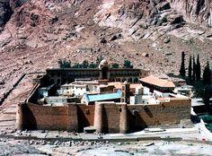 Saint Catherine's Monastery, Mount Sinai, Sinai Peninsula, Egypt, 1995