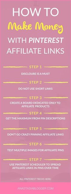 How to get the most out of Affiliate Marketing with Pinterest.