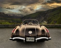Landscape with Corvette... by Pawel Kucharski, via 500px