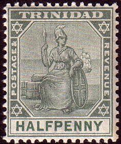 Trinidad 1901 Britania SG 126 Fine Mint Scott 75  Other Trindada Stamps HERE