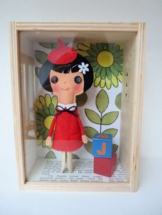 via Jane Foster Blog: peg doll by samantha stas