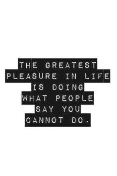 Pleasures & Dont's