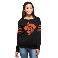 OSU 47Brand Drop Needle Sweater