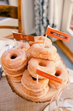 with my love for doughnuts, I would love to have a stack of these at every party