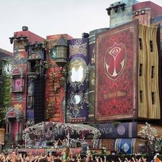 Tomorrowland Festival Belgium. What a fantastic stage!