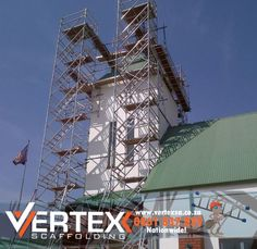 Aluminium Scaffolding The main reason for selecting aluminium towers is to provide access is the lightness of the components and the consequent ease of assembly compared to the heavier sections of steel scaffold structures. In mobile form, aluminium towers are easy to move from point to point. Aluminium towers provide a stable and firm work platform for a wide variety of applications.