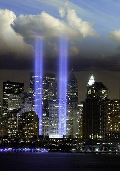 World Trade Center Memorial and God bless America!
