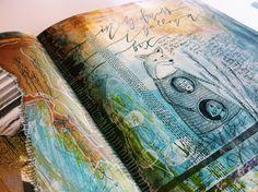 """""""in my dreams I follow a fox"""" #journal #bybun"""