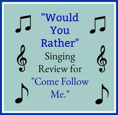 Primary Songs, Primary Singing Time, Lds Primary, Primary Lessons, Lds Sunday School, Would You Rather Game, Lds Music, Visiting Teaching Handouts, Bible Songs