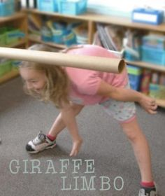 How would Giraffe play Limbo?      From: Plan a Giraffe and Bird Party
