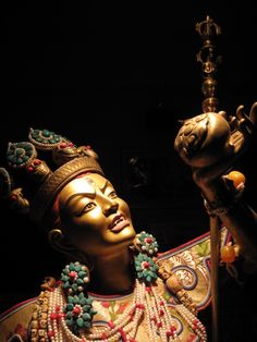 Oneself is Vajrayogini and in the sky in front, the root teacher manifests in the form of Padmasambhava. ~Dudjom Rinpoche, The Preliminary Practice of the New Treasure of Dudjom