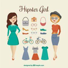 Hispter girl