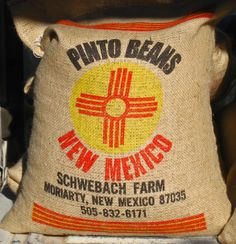 Moriarty, New Mexico.   High School Cross Country Team: the Running Pintos.  Not horses, silly...the Best Pinto Beans and corn in the world!