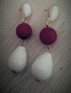 #handmade #bijoux #onepiece #earrings #agata #stones #gold #pendant