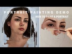 "PORTRAIT PAINTING TIME-LAPSE || ""Intuition"" Oil on canvas - YouTube"