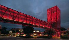 Revista aU | Torres e passarelas vermelhas se sobressaem no projeto do Metro Arquitetos para o Museu do Chocolate, em Caçapava, SP | Arquitetura e Urbanismo