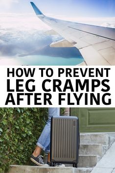 Leg cramps after flying, sore neck after a car read? Tips for prevention and recovery. Reach your destination without pain and discomfort - enjoy your trip! Packing Tips For Travel, Travel Goals, Travel Advice, Travel Guides, Travel Hacks, Fly Travel, Travel Usa, Minimal Travel, Sore Neck